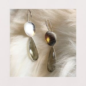 Green Amethyst Sterling Silver Earrings